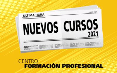 Nuevos Cursos Profesionales para 2021 en Gala Formación
