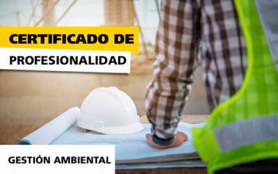 Certificado de Profesional: Gestión Ambiental en Madrid