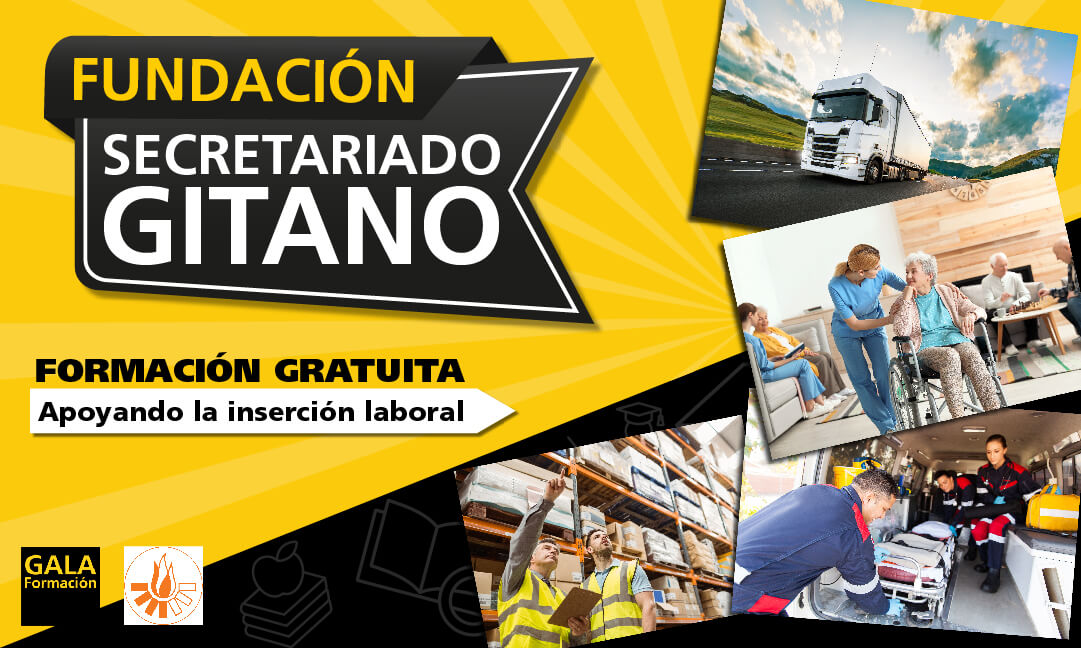 Fundación Secretariado Gitano en colaboración con Gala Formación