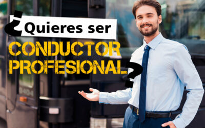 ¿Cómo ser conductor profesional en España?