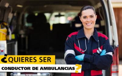 Ser conductor de ambulancia, ¿qué requisitos hay que cumplir?
